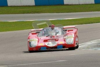 "© Octane Photographic Ltd. 2012 Donington Historic Festival. ""1000km"" for pre-72 sports-racing cars, qualifying. Ferrari 512M - Paul Knapfield. Digital Ref : 0319cb1d8422"