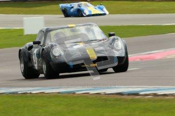 "© Octane Photographic Ltd. 2012 Donington Historic Festival. ""1000km"" for pre-72 sports-racing cars, qualifying. Chevron B8 - Paul Drayson. Digital Ref : 0319cb1d8478"