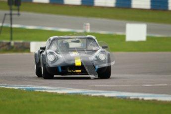 "© Octane Photographic Ltd. 2012 Donington Historic Festival. ""1000km"" for pre-72 sports-racing cars, qualifying. Chevron B8 - Martin Stretton. Digital Ref : 0319cb1d8587"