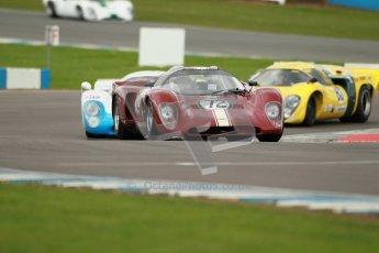"© Octane Photographic Ltd. 2012 Donington Historic Festival. ""1000km"" for pre-72 sports-racing cars, qualifying. Chevron B16 FVC - Jamie Boot. Digital Ref : 0319cb1d8670"
