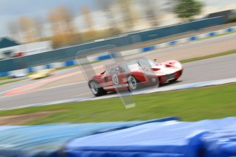 "© Octane Photographic Ltd. 2012 Donington Historic Festival. ""1000km"" for pre-72 sports-racing cars, qualifying. Ford GT40 - Chris Ball/Nick Ball. Digital Ref : 0319cb7d0150"