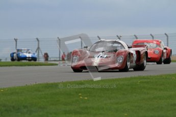 "© Octane Photographic Ltd. 2012 Donington Historic Festival. ""1000km"" for pre-72 sports-racing cars, qualifying. Chevron B16 FVC - Jamie Boot. Digital Ref : 0319lw7d9296"