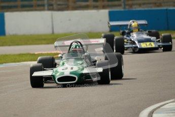 © Octane Photographic Ltd. 2012 Donington Historic Festival. HSCC Historic F2, qualifying. Brabham BT36 - Luciano Arnold. Digital Ref : 0315cb1d7745