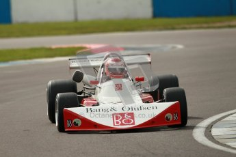 © Octane Photographic Ltd. 2012 Donington Historic Festival. HSCC Historic F2, qualifying. March 712M - Alain Lagache. Digital Ref : 0315cb1d7761