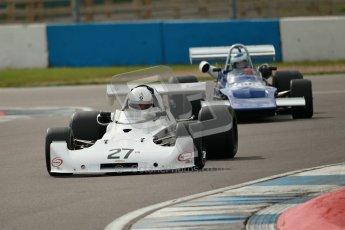 © Octane Photographic Ltd. 2012 Donington Historic Festival. HSCC Historic F2, qualifying. Lola T360 - Daniel Glanz. Digital Ref : 0315cb1d7767