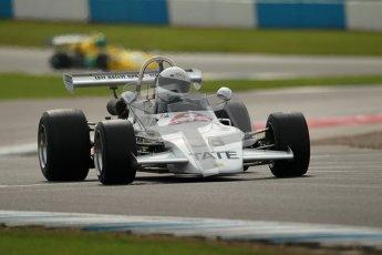 © Octane Photographic Ltd. 2012 Donington Historic Festival. HSCC Historic F2, qualifying. Brabham BT38 - James Claridge. Digital Ref : 0315cb1d7874