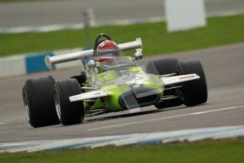 © Octane Photographic Ltd. 2012 Donington Historic Festival. HSCC Historic F2, qualifying. Brabham BT30 - Ian Gray. Digital Ref : 0315cb1d8020