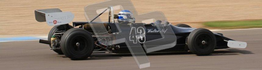 © Octane Photographic Ltd. 2012 Donington Historic Festival. HSCC Historic F2, qualifying. March 712M - Walter Nef. Digital Ref : 0315lw7d8068