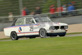 © Octane Photographic Ltd. 2012 Donington Historic Festival. JD Classics Challenge for 66 to 85 touring cars, qualifying. Triumph Dolomite - Anthony Robinson. Digital Ref : 0318cb1d8278