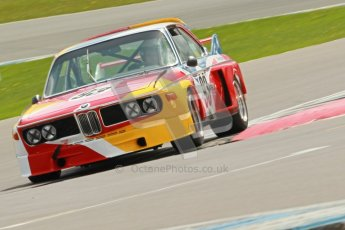 © Octane Photographic Ltd. 2012 Donington Historic Festival. JD Classics Challenge for 66 to 85 touring cars, qualifying. BMW 3.0SCL - Andrew Smith/John Young. Digital Ref : 0318cb1d8308