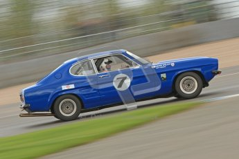 © Octane Photographic Ltd. 2012 Donington Historic Festival. JD Classics Challenge for 66 to 85 touring cars, qualifying. Ford Capri - Denis Welch/Mike Freeman. Digital Ref : 0318cb7d0078