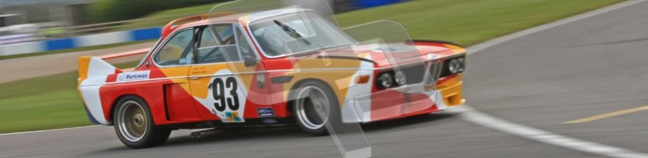 © Octane Photographic Ltd. 2012 Donington Historic Festival. JD Classics Challenge for 66 to 85 touring cars, qualifying. BMW 3.0SCL - Andrew Smith/John Young. Digital Ref : 0318cb7d0123