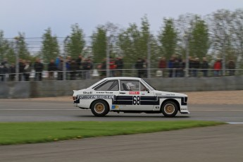 © Octane Photographic Ltd. 2012 Donington Historic Festival. JD Classics Challenge for 66 to 85 touring cars, qualifying. Ford Escort RS1800 - Mark Wright/Dave Coyne. Digital Ref : 0318lw7d8639