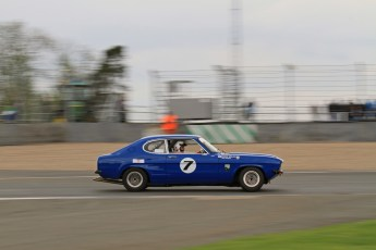 © Octane Photographic Ltd. 2012 Donington Historic Festival. JD Classics Challenge for 66 to 85 touring cars, qualifying. Ford Capri - Denis Welch/Mike Freeman. Digital Ref : 0318lw7d8683