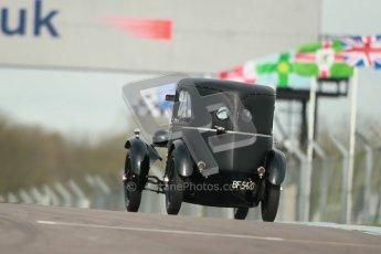"© Octane Photographic Ltd. 2012 Donington Historic Festival. ""Mad Jack"" for pre-war sportscars, qualifying. Frazer Nash - Patrick Blakeney-Edwards. Digital Ref : 0314cb1d7478"