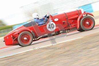 "© Octane Photographic Ltd. 2012 Donington Historic Festival. ""Mad Jack"" for pre-war sportscars, qualifying. Digital Ref : 0314cb7d9642"