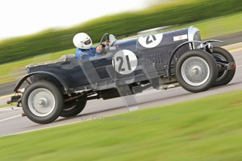 "© Octane Photographic Ltd. 2012 Donington Historic Festival. ""Mad Jack"" for pre-war sportscars, qualifying. Bentley 3 Litre - Jock MacKinnon. Digital Ref : 0314cb7d9659"