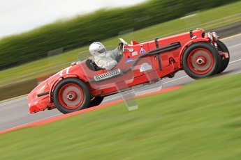 "© Octane Photographic Ltd. 2012 Donington Historic Festival. ""Mad Jack"" for pre-war sportscars, qualifying. Aston Martin Speed - Richard Lake/Paul Alcock. Digital Ref : 0314cb7d9663"