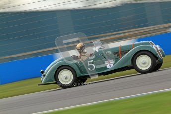 "© Octane Photographic Ltd. 2012 Donington Historic Festival. ""Mad Jack"" for pre-war sportscars, qualifying. BMW 328 Sports - David Cottingham/Simon Diffey. Digital Ref : 0314cb7d9698"