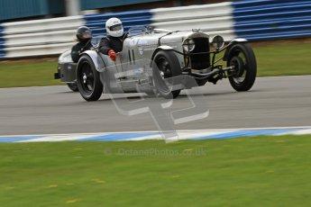 "© Octane Photographic Ltd. 2012 Donington Historic Festival. ""Mad Jack"" for pre-war sportscars, qualifying. Frazer Nash Super Sport - Fred Wakeman/Patrick Blakeney-Edwards. Digital Ref : 0314cb7d9722"