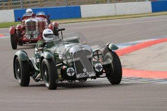 "© Octane Photographic Ltd. 2012 Donington Historic Festival. ""Mad Jack"" for pre-war sportscars, qualifying. Digital Ref : 0314lw7d7111"