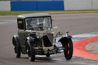 "© Octane Photographic Ltd. 2012 Donington Historic Festival. ""Mad Jack"" for pre-war sportscars, qualifying. Frazer Nash - Patrick Blakeney-Edwards. Digital Ref : 0314lw7d7146"