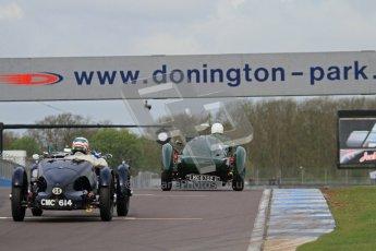"© Octane Photographic Ltd. 2012 Donington Historic Festival. ""Mad Jack"" for pre-war sportscars, qualifying. Digital Ref : 0314lw7d7347"