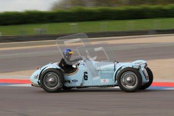 "© Octane Photographic Ltd. 2012 Donington Historic Festival. ""Mad Jack"" for pre-war sportscars, qualifying. Talbot Lago T150 - Sam Stretton/John Guyatt. Digital Ref : 0314lw7d7464"