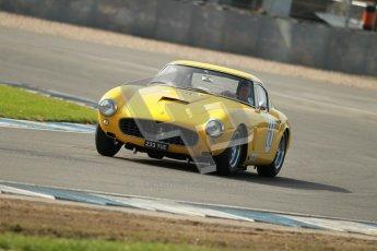 © Octane Photographic Ltd. 2012 Donington Historic Festival. Pre-63 GT, qualifying. Ferrari 250SWB - Jackie Oliver, Gary Pearson. Digital Ref : 0322cb1d9265