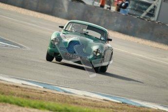 © Octane Photographic Ltd. 2012 Donington Historic Festival. Pre-63 GT, qualifying. Aston Martin DB2 - Glynn Allen. Digital Ref : 0322cb1d9327