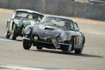 © Octane Photographic Ltd. 2012 Donington Historic Festival. Pre-63 GT, qualifying. Ferrari 250GT Berlinetta - Conrad Ulrich, Willie Green. Digital Ref : 0322cb1d9538