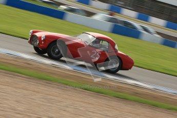 © Octane Photographic Ltd. 2012 Donington Historic Festival. Pre-63 GT, qualifying. AC Ace Bristol - Cussons. Digital Ref : 0322cb7d0389