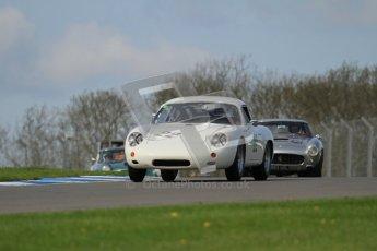 © Octane Photographic Ltd. 2012 Donington Historic Festival. Pre-63 GT, qualifying. Porsche Carrera Abarth - Bill Wykeham, Neil Tolich. Digital Ref : 0322lw7d0252