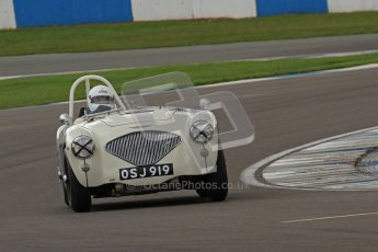 © Octane Photographic Ltd. 2012 Donington Historic Festival. RAC Woodcote Trophy for pre-56 sportscars, qualifying. Digital Ref : 0316lw7d8284