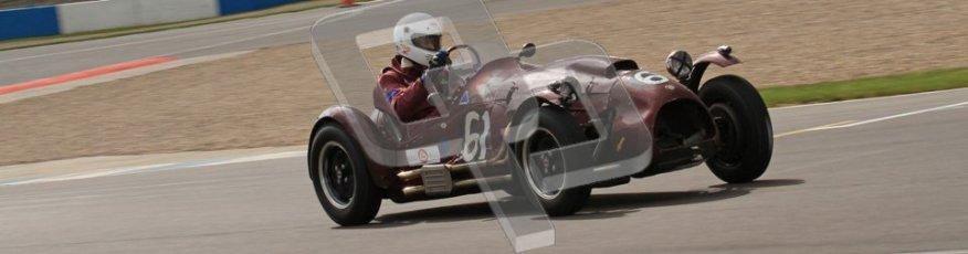 © Octane Photographic Ltd. 2012 Donington Historic Festival. RAC Woodcote Trophy for pre-56 sportscars, qualifying. Cooper Bristol T24/T25 - John ure/Nick Wigley. Digital Ref : 0316lw7d8393