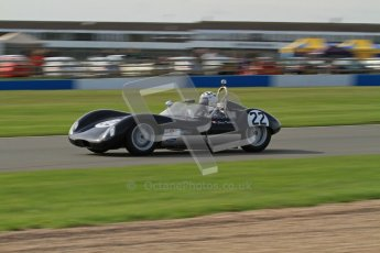 © Octane Photographic Ltd. 2012 Donington Historic Festival. Stirling Moss Trophy for pre-61 sportscars, qualifying. Lola Mk.1 - Jurg Tobler. Digital Ref : 0321lw7d9929