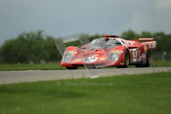 © Octane Photographic Ltd. 2012. Donington Park - General Test Day. Tuesday 12th June 2012. Ex Giunti/Ickx Ferrari 512S. Digital Ref : 0365lw1d2244