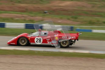 © Octane Photographic Ltd. 2012. Donington Park - General Test Day. Tuesday 12th June 2012. Ex Giunti/Ickx Ferrari 512S. Digital Ref : 0365lw7d8737