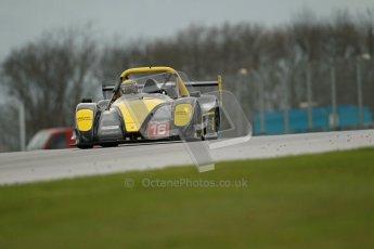 © Octane Photographic Ltd. Donington Park - General Test - 19th April 2012. Andy Cummings, Radical SR3RS, Radical Masters Euroseries. Digital ref : 0297lw1d0044
