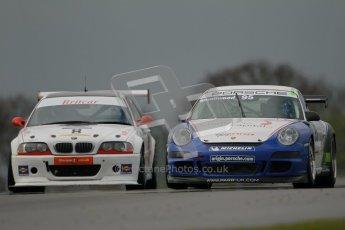 © Octane Photographic Ltd. Donington Park - General Test - 19th April 2012. Peter Smallwood, Porsche GT3 Cup Challenge. Digital ref : 0297lw1d0586