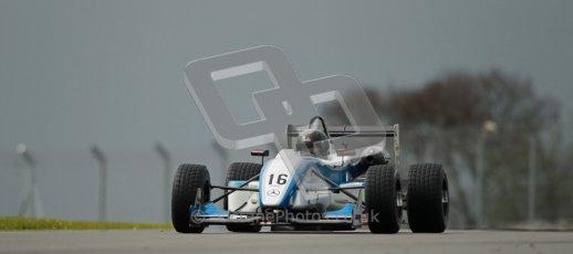 © Octane Photographic Ltd. Donington Park - General Test - 19th April 2012. Gino Ussi, F3 Cup. Digital ref : 0297lw1d0613