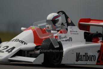 © Octane Photographic Ltd. Donington Park - General Test - 19th April 2012. Grant Tromans, Martini Mk.39 Alfa Romeo, Grand Prix de Monaco Historique 2012. Digital ref : 0297lw1d0635
