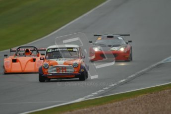 © Octane Photographic Ltd. Donington Park - General Test - 19th April 2012. Peter Baldwin, Baldwin Motorsport, Mini Miglia Championship and Oliver Cox. Digital ref : 0297lw1d9109