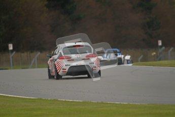 © Octane Photographic Ltd. Donington Park - General Test - 19th April 2012. Gary Duckman, Seat Leon, BARC Dunlop Production Touring Car Trophy. Digital ref : 0297lw1d9333