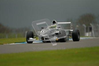 © Octane Photographic Ltd. Donington Park - General Test - 19th April 2012. James Fletcher, Mygale FB02, MGR, BARC Intersteps championship. Digital ref : 0297lw1d9752