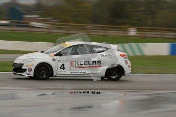 © Octane Photographic Ltd. Donington Park - General Test - 19th April 2012. Antony Williams, Renault Megane, Production Touring Car Trophy. Digital ref : 0297lw7d5190