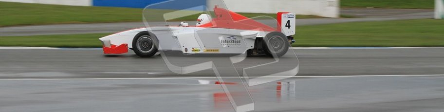 © Octane Photographic Ltd. Donington Park - General Test - 19th April 2012. Matteo Ferrer, Mygale FB02, Fortec, BARC Intersteps championship. Digital ref : 0297lw7d5399