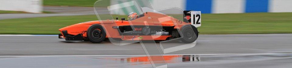 © Octane Photographic Ltd. Donington Park - General Test - 19th April 2012. Jan Switter, Mygale FB02 - MGR, BARC Intersteps championship. Digital ref : 0297lw7d5406