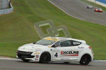 © Octane Photographic Ltd. Donington Park - General Test - 19th April 2012. Anthony Williams, Renault Megane,  BARC Dunlop Production Touring Car Trophy. Digital ref : 0297lw7d5639
