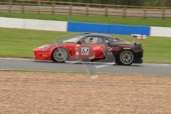 © Octane Photographic Ltd. Donington Park - General Test - 19th April 2012. Lotus Evora, Richard Adams/David Green/Martin Byford, Britcar MSA Endurance Championship. Digital ref : 0297lw7d5668